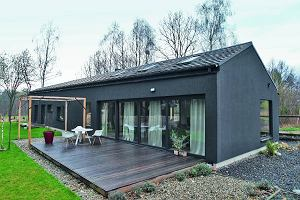 Nowoczesna stodoła - stylowy dom pary architektów