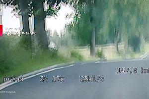 Patrolowali drogę w Sucuminie. Nagle nadjechał motocykl, radiowóz ruszył za nim w pościg