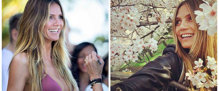 Heidi Klum ma 44 lata, a na Instagramie zachowuje się jak nastolatka. Dziwne, nagie zdjęcia zaniepokoiły fanów