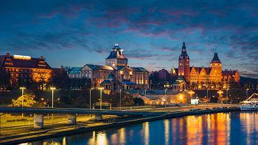 Panorama Starego Miasta w Szczecinie