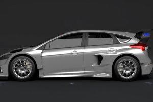 Ford Focus RS RX | Ken Block sprawdza now� maszyn�
