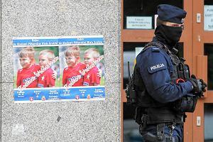Policja przeszukuje obiekty klubowe TS Wisła