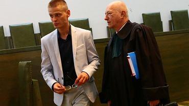Tomasz Komenda i mecenas Zbigniew Ćwiąkalski