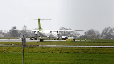 Ostatni samolot do Rygi odlatujący z lotniska w Radomiu