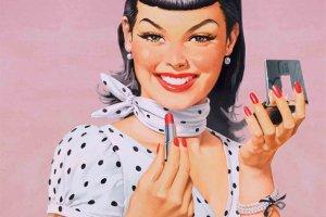 Make Up Factory: makijaż w stylu lat 50.