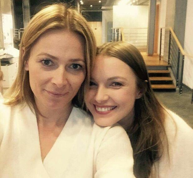 Odeta Moro i Agnieszka Mielczarek w 'Morowym Weekendzie'
