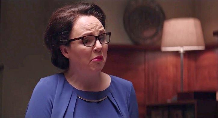 Magdalena Smalara w 'Ucho Prezesa' / Kadr z YouTube