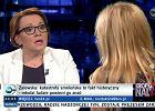 """PiS milczy o kompromitacji minister Zalewskiej w """"Kropce nad i"""""""