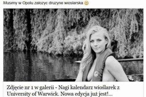 """Prezydent Opola seksistowski na Facebooku? """"To naganna postawa"""""""
