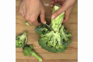 Sałatka z brokułem - daj szansę korzeniowi