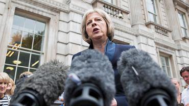 Minister spraw wewnętrznych Wielkiej Brytanii Theresa May
