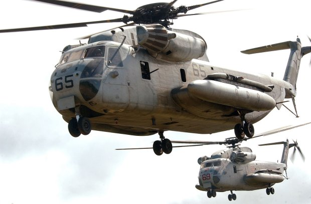 Śmigłowiec CH-53D Sea Stallion