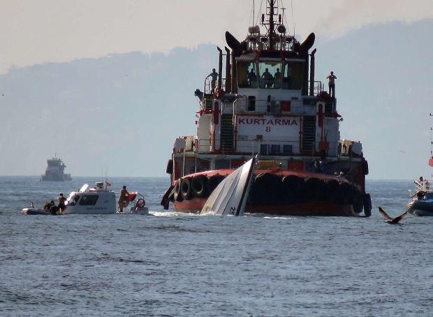 Po zderzeniu dw�ch statk�w Bosfor zamkni�ty dla transportu morskiego