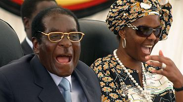 Robert i Grace Mugabe