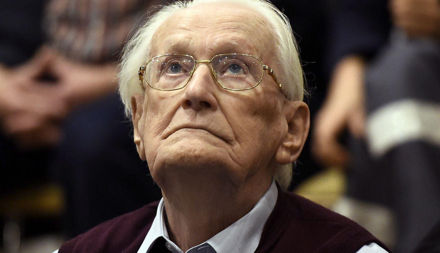 Oskar Groening, były SS-man, 'księgowy z Auschwitz'