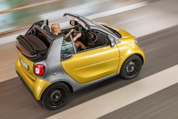 Smart ForTwo Cabrio   Lato w mie�cie