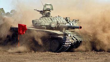 Wyścigi czołgów rozgrywane między separatystami z Donieckiej i Ługańskiej Republiki Ludowej, okolice Doniecka, 16 września 2016