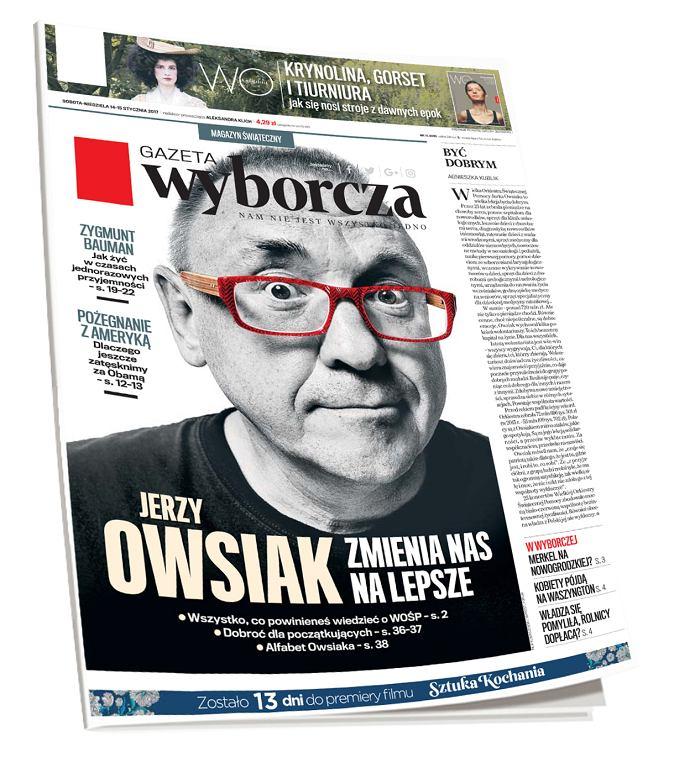 Życzenia na jedynce 'Gazety Wyborczej' / mat.pras.