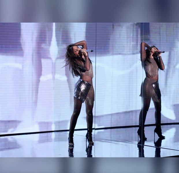 Camila Cabello podczas występu