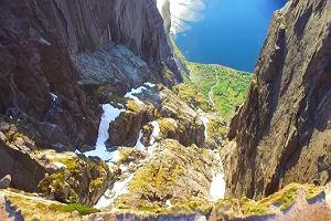 Norwegia z lotu ptaka. Zobacz filmik, który wyświetlono ponad 100 milionów razy [WIDEO]