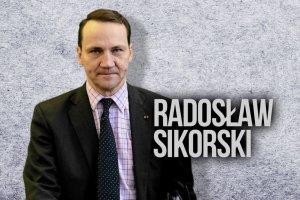 Radosław Sikorski - ambitny i pewny siebie światowiec