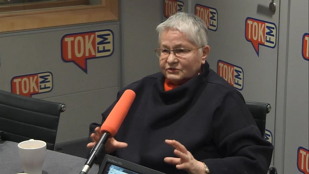 Barbara Labuda w TOK FM skrytykowała władzę PiS za zatrzymanie Władysława Frasyniuka i kary dla obywateli biorących udział w protestach przeciwko partii rządzącej.