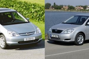 Pojedynek używanych | Civic vs Corolla