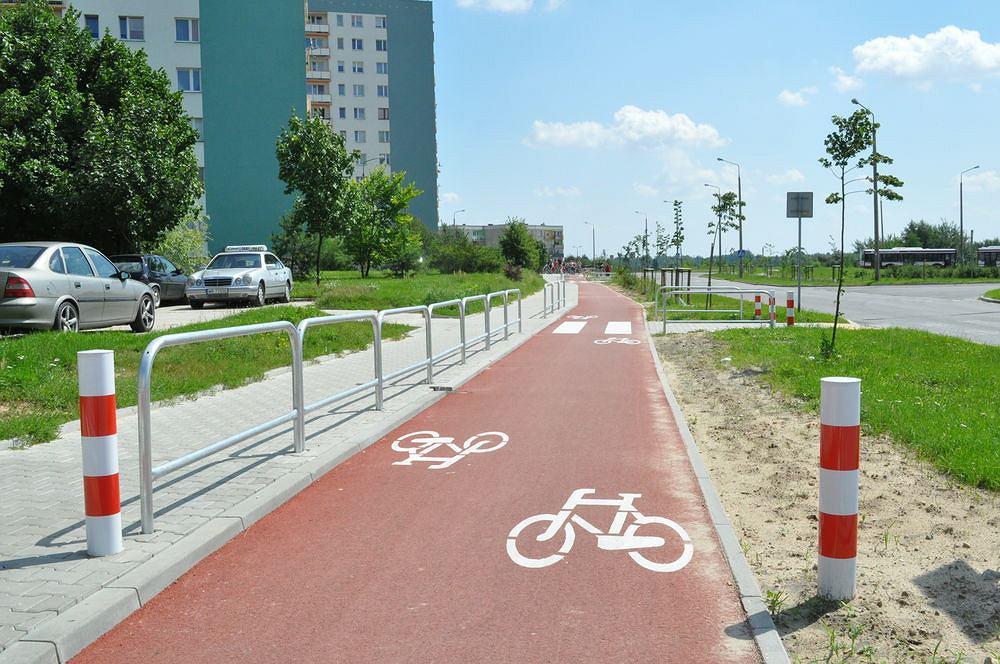 Wzorcowa droga rowerowa w Radomiu