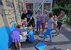Namalowali w Żywcu góralskie graffiti