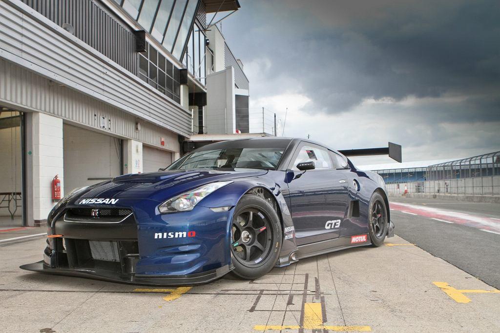 Nissan GT-R w specyfikacji GT3