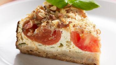 Wytrawny tort pomidorowy