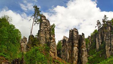 Czechy atrakcje - Skalne Miasto / Shutterstock
