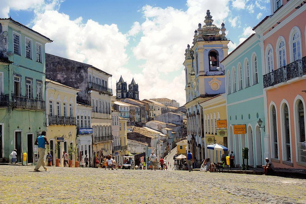 Pelourinho, Salvador, Brazylia