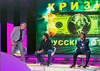 Rosyjski miliarder pobi� drugiego miliardera w TV. Posz�o o kryzys finansowy