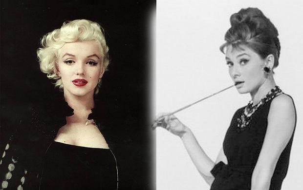 Audrey Hepburn as Marilyn Monroe