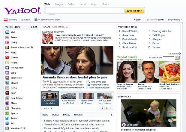 Chińczycy chcą kupić Yahoo! - jeden z największych i najstarszych portali internetowych na świecie