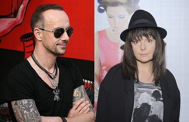 Karolina Korwin Piotrowska i Nergal