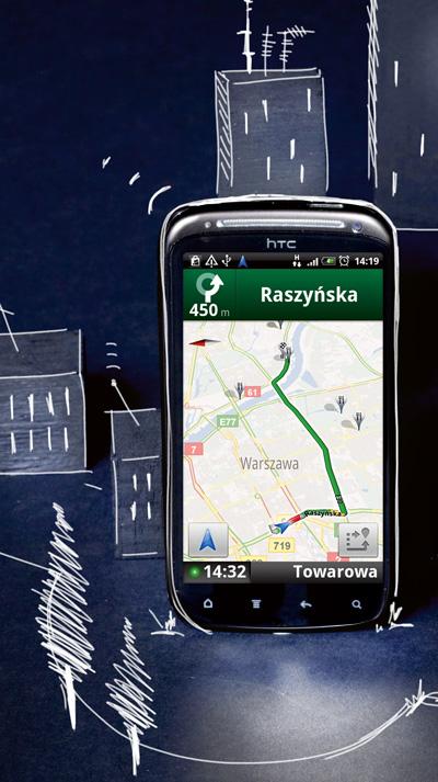 gsm, korki, tmc, nawigacja, test,Google, Navigation