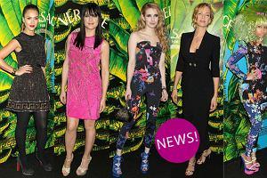 Gwiazdy Hollywood w kreacjach z kolekcji Versace dla H&M