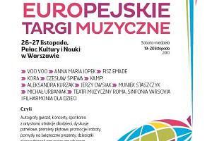 """Ju� jutro program europejskich targ�w muzycznych Gazety Co Jest Grane z """"Gazet� Wyborcz�"""""""