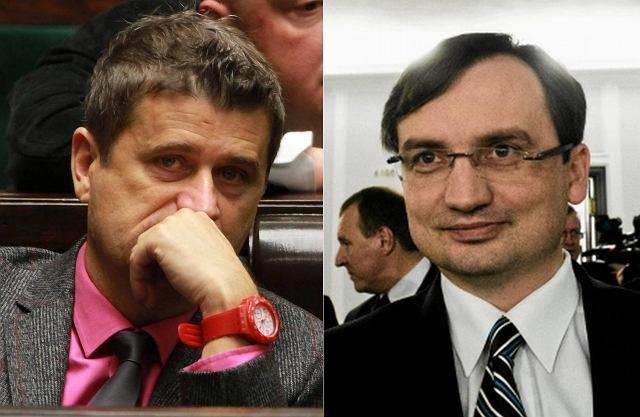 Janusz Palikot i Zbigniew Ziobro