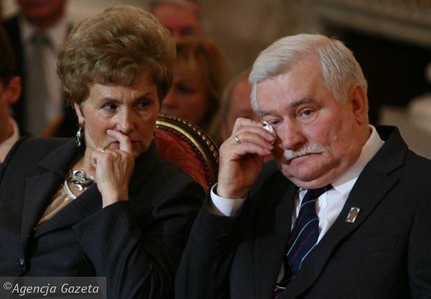 Danuta Wałęsa i Lech Wałęsa