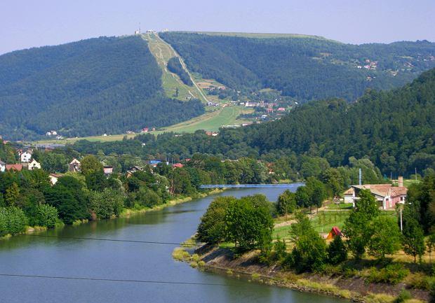 Polska. Bielsko-Bia�a, Jezioro Mi�dzybrodzkie i G�ra �ar