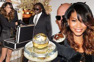 Chanel Iman promuje perfumy DKNY warte milion dolar�w