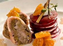 Roladka z kaczki i foie gras z konfiturą z kumkwata i mille-feuille z buraczków - ugotuj