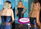 Fergie w niedopinaj�cej si� sukience