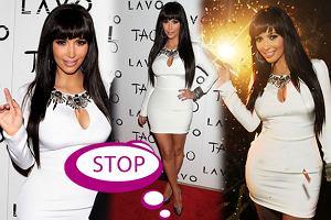 Nowy tandetny wizerunek Kim Kardashian