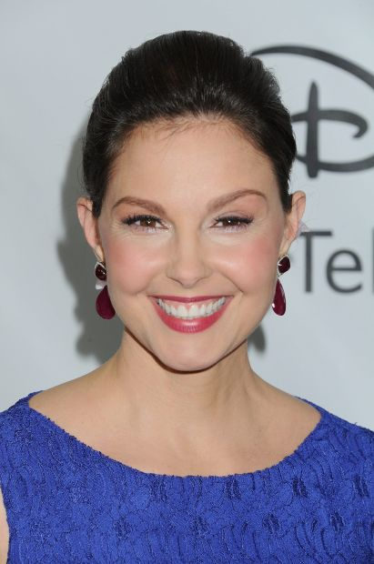 Ashley Judd arrives at Disney ABC Television Group Television Critics Association Winter Press Tour red carpet event at The Langham Hotel, Tuesday, Jan. 10, 2012, in Pasadena, Calif.(AP Photo/Katy Winn)
