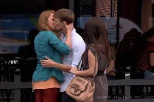 """""""M jak Mi�o��"""": Pierwszy gor�cy poca�unek Uli"""