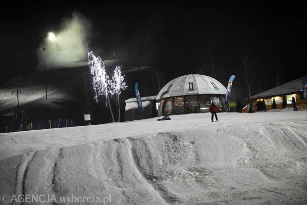 Stok narciarski na �roduli